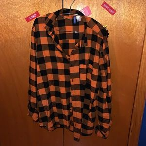 Men's H&M button down shirt size xl